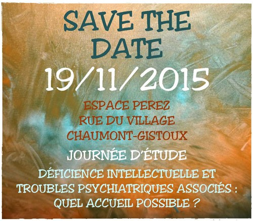 Save the Date journée 19/11/2015