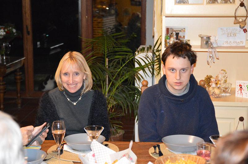 Natacha Verstraeten et son fils Alexis