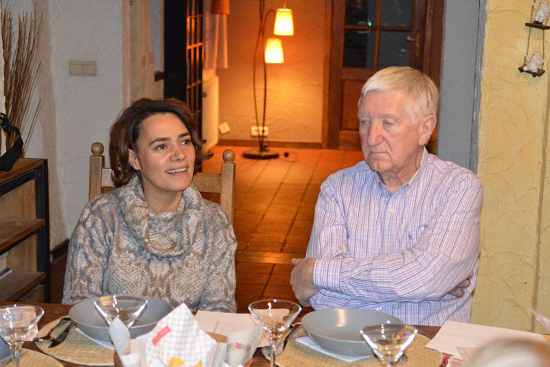 Nathalie Delvenne et José Lecuyer